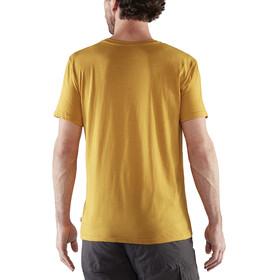 Fjällräven Logo T-Shirt Homme, ochre